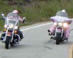 Divas rolling down the Pacific Coast Highway